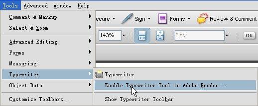 TypeWriter Tool